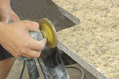 Granite Shaping and Edging